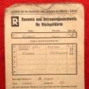 Militaria: CARTILLA DE IDENTIDAD, AUSWEIS DEL TERCER REICH , ORIGINAL DE ÉPOCA.. Lote 160649870