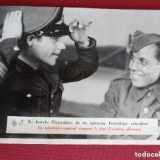 Militaria: BONITA FOTOGRAFÍA DE INTERÉS HISTÓRICO, ESCUADRILLA AZUL, DIVISIÓN AZUL. Lote 161688822