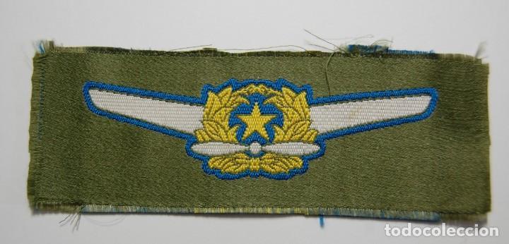 DISTINTIVO DE TELA PARA CAMISA DE PILOTO DE LA AVIACION DE JAPON.SEGUNDA GUERRA MUNDIAL. (Militar - II Guerra Mundial)