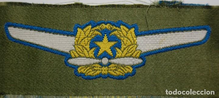 Militaria: DISTINTIVO DE TELA PARA CAMISA DE PILOTO DE LA AVIACION DE JAPON.SEGUNDA GUERRA MUNDIAL. - Foto 2 - 162767490