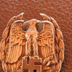 Militaria: INSIGNIA DE POLICÍA MILITAR OPOLICÍA POLÍTICA. SEGUNDA GUERRA MUNDIAL ALEMANIA. Lote 163027161