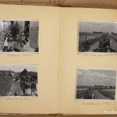 Militaria: ALBUM II GUERRA MUNDIAL ALEMANIA. 159 FOTOGRAFIAS (CAMPAÑA, ARMAMENTO, CIUDADES DESTRUIDAS). Lote 165434642