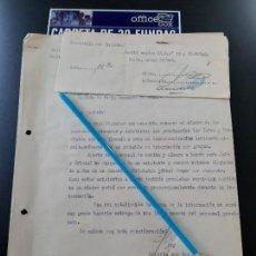 Militaria: WW2. ACORAZADO GRAF SPEE. PERSONAL PARA OFICIALES Y JURAMENTO DE NO FUGARSE. Lote 165620954