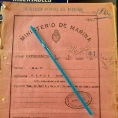 Militaria: WW2. ACORAZADO GRAF SPEE. INTERNAMIENTO FRANZ GROSS. Lote 165622534