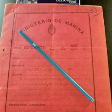 Militaria: WW2. ACORAZADO GRAF SPEE. CASTIGO AL MARINERO ERNEST HEINZE. Lote 165625646
