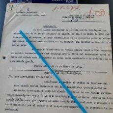 Militaria: WW2. ACORAZADO GRAF SPEE. ACCIDENTE DEPORTIVO. Lote 165626226