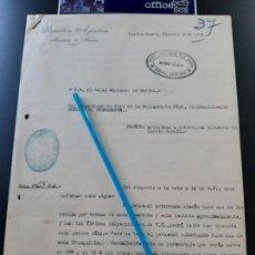 Militaria: WW2. ACORAZADO GRAF SPEE. LICENCIA DE 48 MARINEROS BAJO PALABRA DE HONOR. Lote 165626750