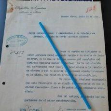 Militaria: WW2. ACORAZADO GRAF SPEE. DENTISTA. Lote 165751750