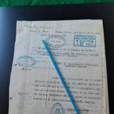 Militaria: WW2. ACORAZADO GRAF SPEE. COMPROBACION DE ESTADO DE SALUD. Lote 165752070