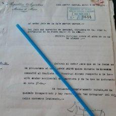 Militaria: WW2. ACORAZADO GRAF SPEE. OCULISTA. Lote 165754794