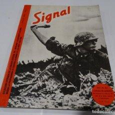 Militaria: SIGNAL, SELECCIÓN EDICIONES EL ARQUERO DE 1980, SEGUNDA GUERRA MUNDIAL, DIVISION AZUL,ARTLLERÍA.... Lote 167101308