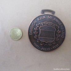 Militaria: GRAN MEDALLA 50 ANIVERSARIO DIVISION AZUL REPRO. Lote 218028162