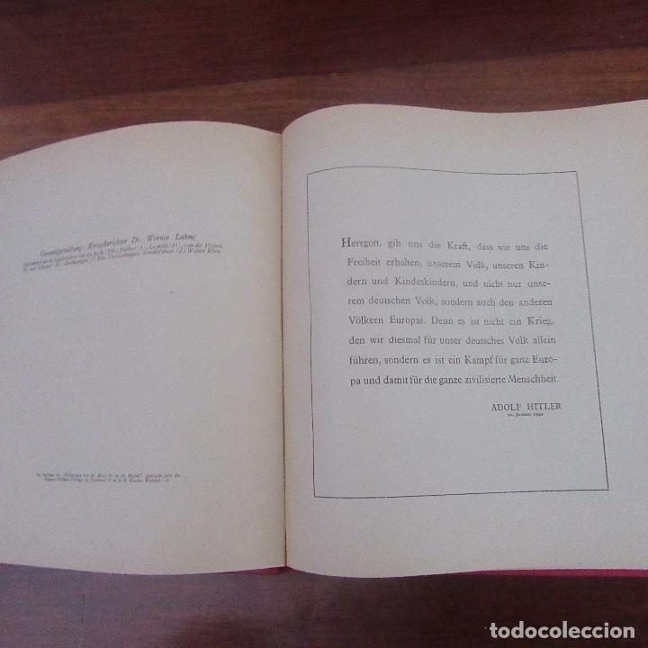 Militaria: Libro voluntarios españoles en el frente division azul, rareza - Foto 6 - 167957316