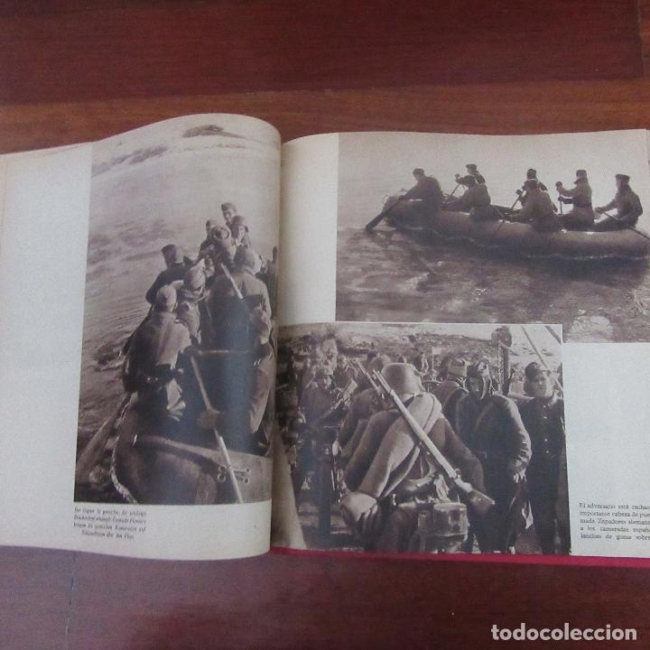 Militaria: Libro voluntarios españoles en el frente division azul, rareza - Foto 8 - 167957316