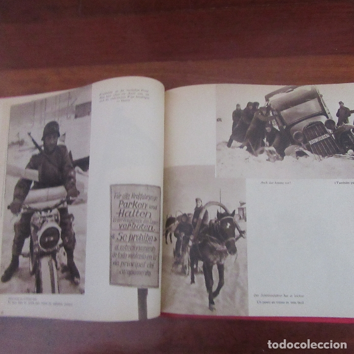 Militaria: Libro voluntarios españoles en el frente division azul, rareza - Foto 9 - 167957316