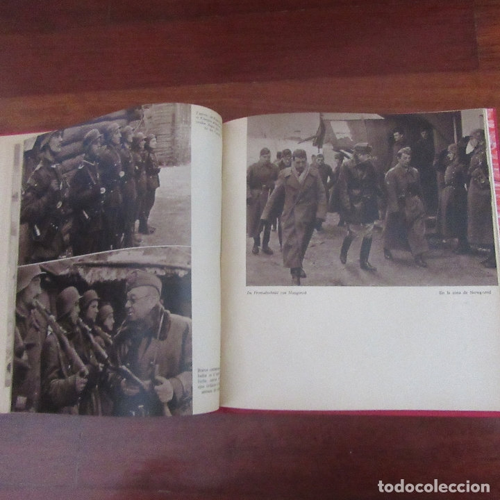 Militaria: Libro voluntarios españoles en el frente division azul, rareza - Foto 10 - 167957316
