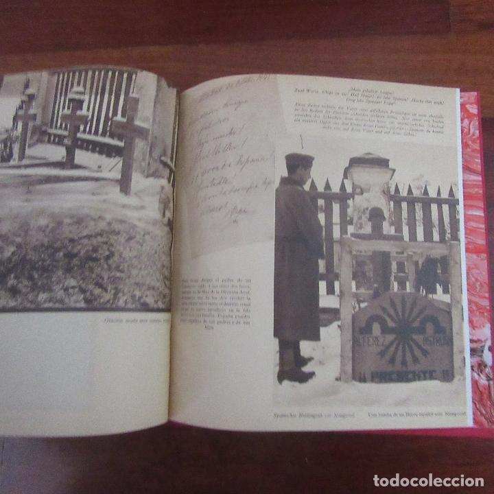 Militaria: Libro voluntarios españoles en el frente division azul, rareza - Foto 11 - 167957316