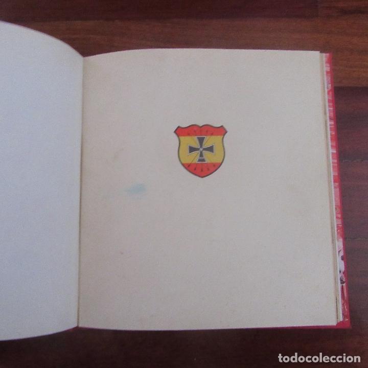 LIBRO VOLUNTARIOS ESPAÑOLES EN EL FRENTE DIVISION AZUL, RAREZA (Militar - II Guerra Mundial)