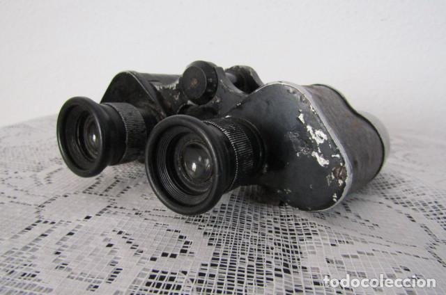 Militaria: Prismáticos binoculares militares alemanes II segunda guerra mundial III Reich ejercito alemán - Foto 2 - 169042112