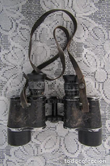 Militaria: Prismáticos binoculares militares alemanes II segunda guerra mundial III Reich ejercito alemán - Foto 5 - 169042112