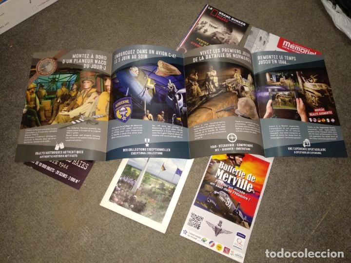 Militaria: Folletos de museos de la segunda guerra mundial en Normandía - Foto 2 - 169240298