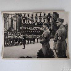 Militaria: FOTO POSTAL ADOLPH HITLER. NAZI. TERCER REICH.SEGUNDA GUERRA MUNDIAL. Lote 169267485