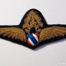 Militaria: BELLISIMO DISTINTIVO DE OFICIAL DE LA FUERZA AEREA DE THAILANDIA.MODELO OFICIAL ENTRE 1939 Y 1949. Lote 171531409