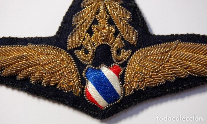 Militaria: BELLISIMO DISTINTIVO de OFICIAL de la FUERZA AEREA de THAILANDIA.MODELO OFICIAL ENTRE 1939 Y 1949 - Foto 2 - 171531409