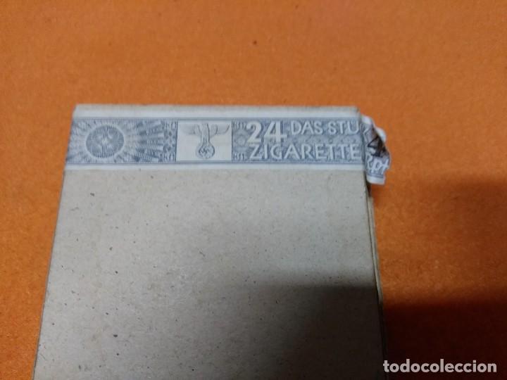 Militaria: paquete de tabaco aleman, 2 GM 24 cigarillos - Foto 5 - 171593977