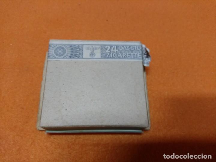 Militaria: paquete de tabaco aleman, 2 GM 24 cigarillos - Foto 6 - 171593977