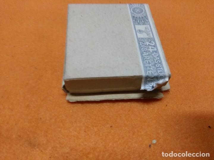 Militaria: paquete de tabaco aleman, 2 GM 24 cigarillos - Foto 7 - 171593977