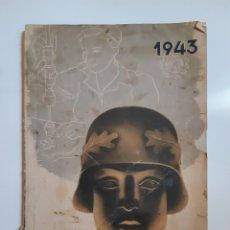 Militaria: KALENDER 1943 ALEMANIA NAZI, TERCER REICH, ESVÁSTICA. Lote 172271940