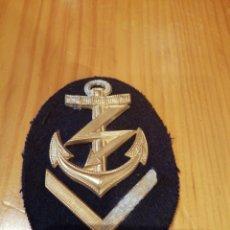 Militaria: INSIGNIA DE LA MARINA NAZI ORIGINAL. Lote 173204957