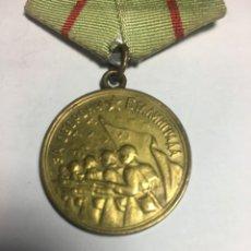 Militaria: URSS UNIÓN SOVIÉTICA. MEDALLA DE LA DEFENSA DE STALINGRADO.. Lote 174099527