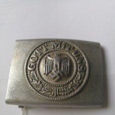 Militaria: HEBILLA WEHRMACHT DE ALUMINIO . Lote 174586168