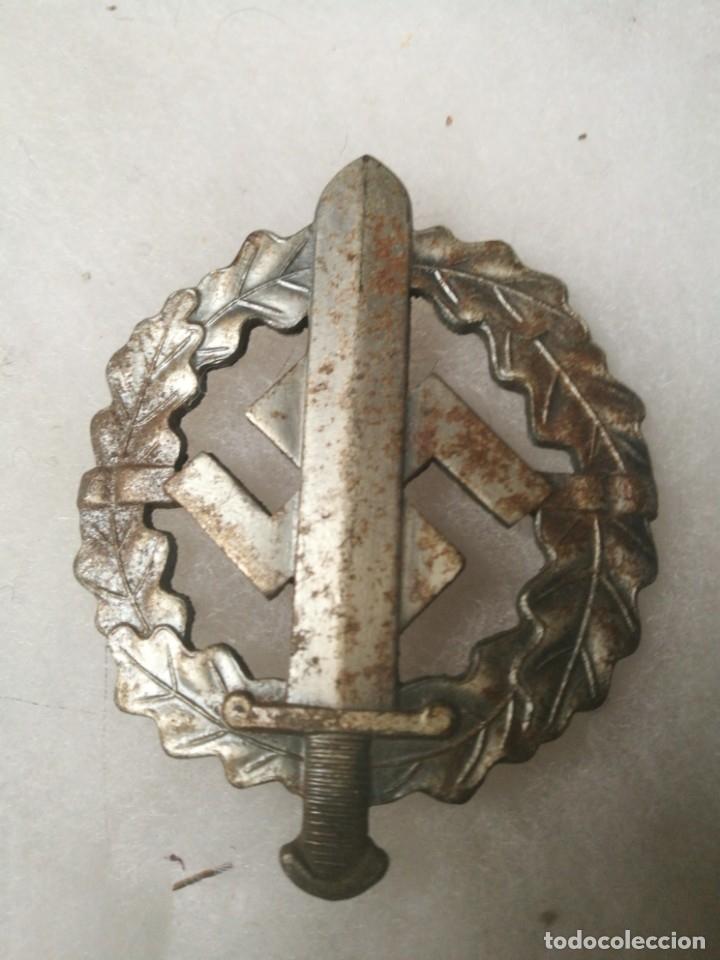 DISTINTIVO DE PLATA PARA DEPORTES DE LAS SA (Militar - II Guerra Mundial)