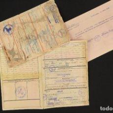 Militaria: LOTE DOCUMENTOS ALEMANES II GUERRA MUNDIAL. Lote 175853894