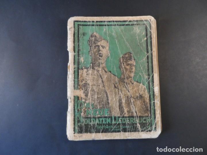 CANCIONERO DE LA WEHRMACHT. SOLDATEN LIEDERBUCH. III REICH. AÑOS 1939-45 (Militar - II Guerra Mundial)
