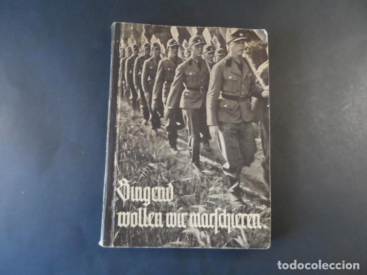 CANCIONERO REICHSARBEITDIENST - RAD. SERVICIO NACIONAL ALEMAN DEL TRABAJO . III REICH (Militar - II Guerra Mundial)