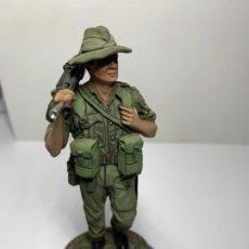 Militaria: BREN ARTILLERO BRITISH INFANTRY BURMA 1943-44 SOLDADO PLOMO - STADDEN STUDIOS 90MM. Lote 178982938