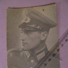Militaria: FOTO DE MILITAR DE WEHRMACHT. ALEMANIA. II GUERRA MUNDIAL. ORIGINAL. 13,5X8,5 CM.. Lote 179334188