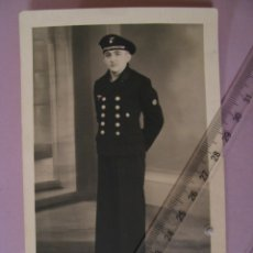 Militaria: FOTO DE MARINERO DE KRIEGSMARINE. ALEMANIA. II GUERRA MUNDIAL. ORIGINAL. 14X9 CM.. Lote 179334237