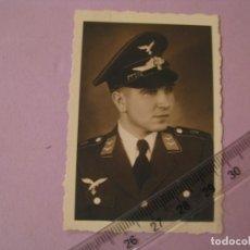 Militaria: FOTO DE MILITAR DE LUFTWAFFE. II GUERRA MUNDIAL. NÜRNBERG. FOTO NORIS. ORIGINAL. 7,5X5 CM.. Lote 179334882