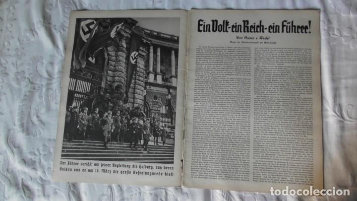 Militaria: Edición especial de la revista Die Wehrmacht dedicada a Anschluss, la anexión de Austria. - Foto 2 - 179723977