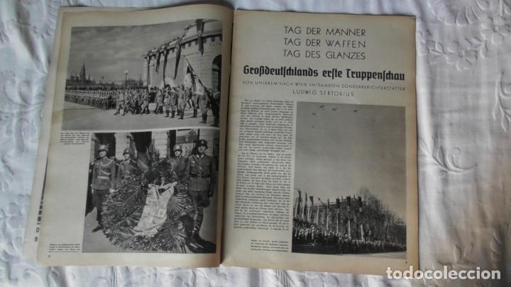 Militaria: Edición especial de la revista Die Wehrmacht dedicada a Anschluss, la anexión de Austria. - Foto 3 - 179723977