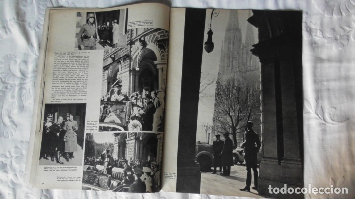 Militaria: Edición especial de la revista Die Wehrmacht dedicada a Anschluss, la anexión de Austria. - Foto 7 - 179723977