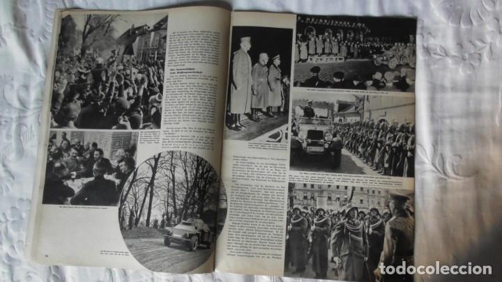 Militaria: Edición especial de la revista Die Wehrmacht dedicada a Anschluss, la anexión de Austria. - Foto 8 - 179723977