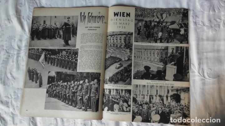 Militaria: Edición especial de la revista Die Wehrmacht dedicada a Anschluss, la anexión de Austria. - Foto 10 - 179723977