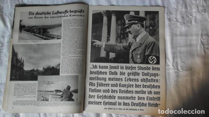 Militaria: Edición especial de la revista Die Wehrmacht dedicada a Anschluss, la anexión de Austria. - Foto 12 - 179723977