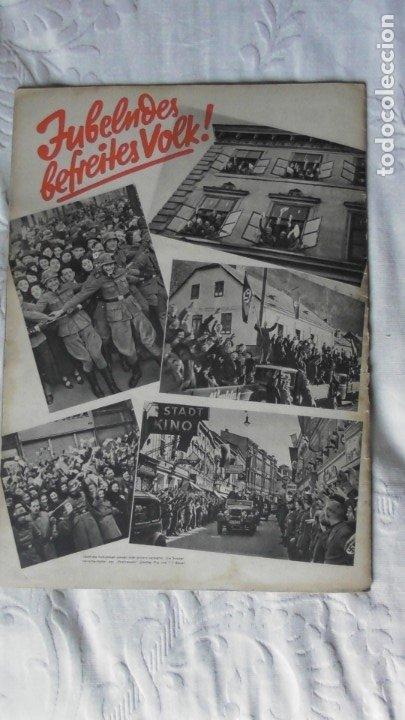 Militaria: Edición especial de la revista Die Wehrmacht dedicada a Anschluss, la anexión de Austria. - Foto 13 - 179723977